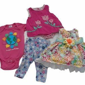 Bundle 3-6 month the cloths